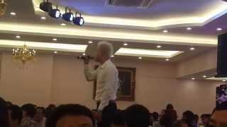 Vũ Duy Khánh hát Vợ Yêu tại đám cưới Duy Khoa