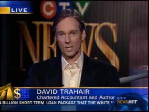David Trahair on CTV NewsNet December 10 2008