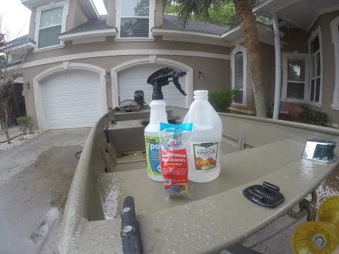 best and cheap cleaner for aluminum boats (UNDER $7)
