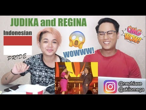 Regina and Judika - Making Love Out of Nothing At All | SINGER REACTS