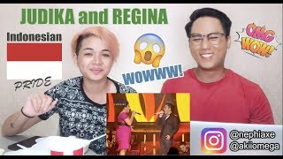 Regina and Judika - Making Love Out of Nothing At All | SINGER REACTS MP3