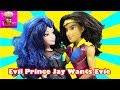 DESCENDANTS Evil Prince Jay Proposes to Evie - Part 5- Evie is the Queen Descendants Disney