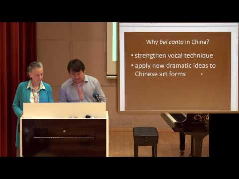Training Opera Singers in Central China by Dr Suzanne Scherr and Mr Lei Chang