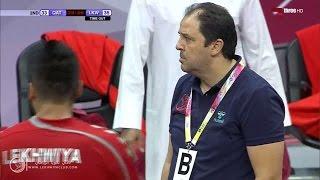 الشوط الثاني | لخويا 36 - 33 نادي قطر | الدوري الوطني لكرة اليد16/15