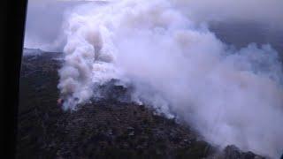 1.800 hectares ravagés… les images aériennes des incendies en Corse