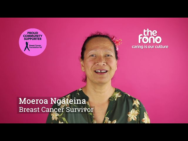 The Fono | Moeroa Ngateina | Breast Cancer Survivor story | Cook Island language