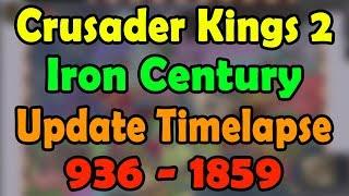 Crusader Kings II Timelapse Video in MP4,HD MP4,FULL HD Mp4