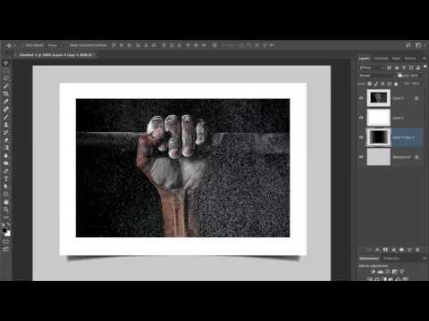 Photoshop Drop Shadow Technique For Matted Print Look