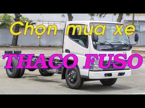 Chọn mua xe Thaco Fuso nào tại Hải Phòng - 0911112826