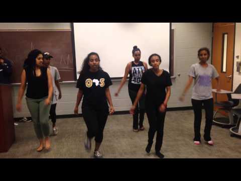 Habesha dance practice UNCC thumbnail