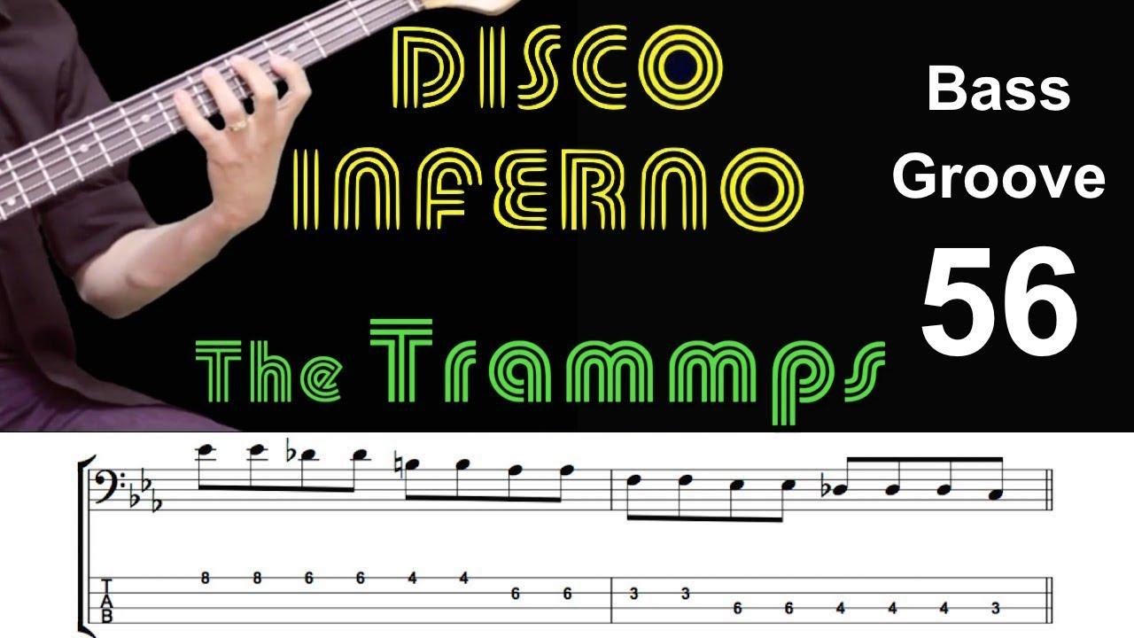 disco inferno musical score pdf
