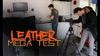 Leather Mega Test - Best leather care products for cars.