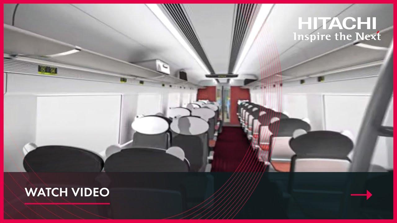 Intercity Express Train CGI from Hitachi Rail Europe