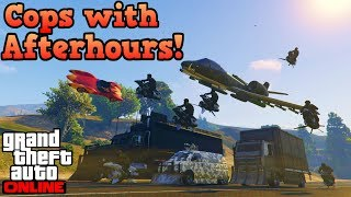 If cops used Afterhours vehicles! (Part 1) - GTA Online