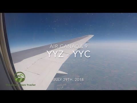 Air Canada 9 | Toronto (YYZ) - Calgary (YYC) | Trip Report 2018