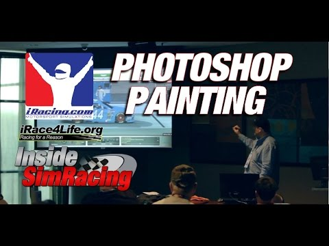 iRacing Photoshop Painting Tutorial by Kyle Guerry @ iRace4Life