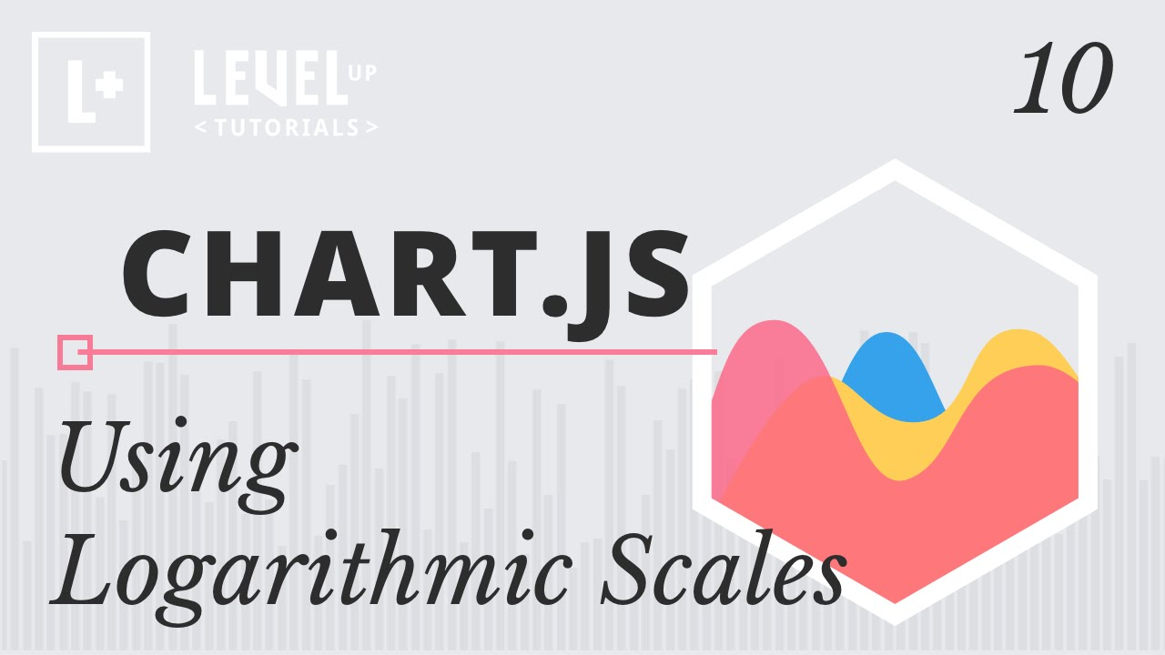 ChartJS Tutorials #10 - Using Logarithmic Scales
