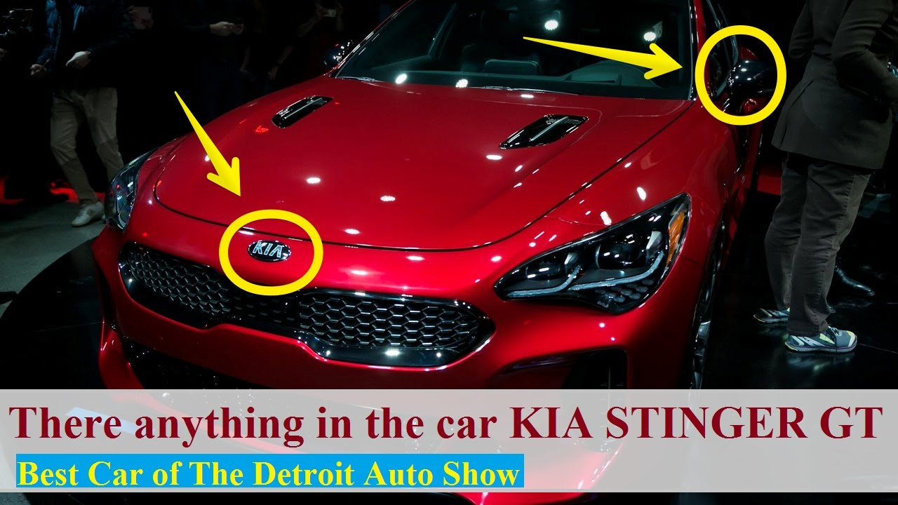 hot news the kia stinger gt is a different level of kia 2017 detroit auto show