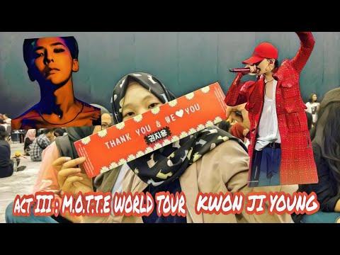 ACT III : M.O.T.T.E WORLD TOUR KWON JI YOUNG IN JAKARTA 170903 [ VLOG ]