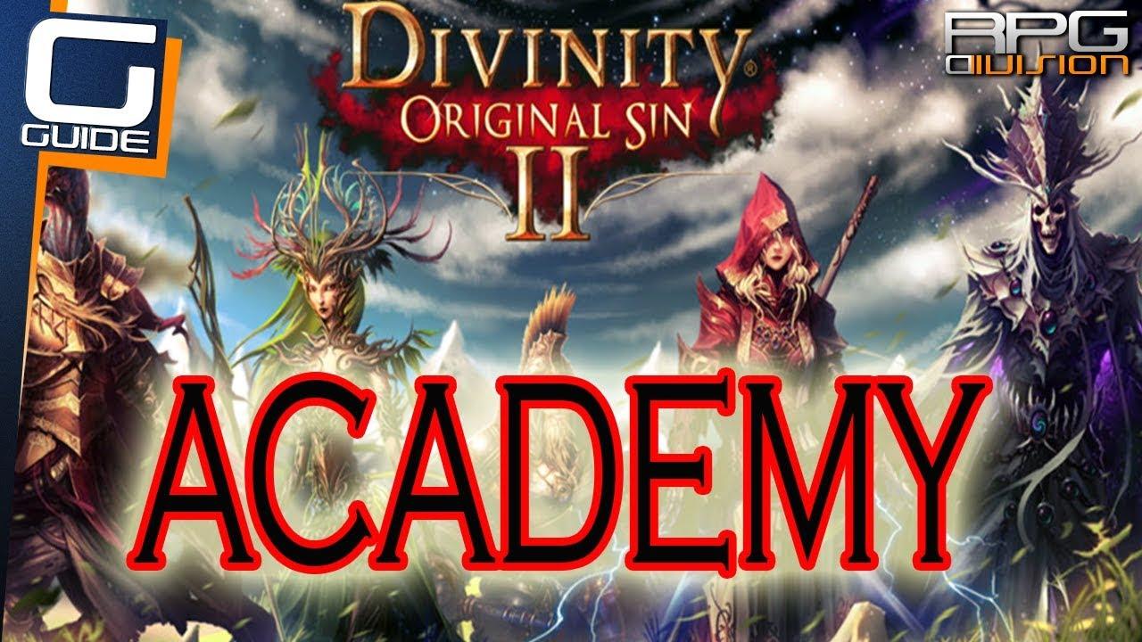 Divinity Original Sin 2 Academy Walkthrough Library Hidden Arena