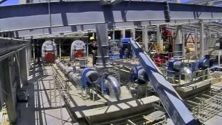 הקמת מפעל נגב קרמיקה בירוחם _ סרטון מהיר