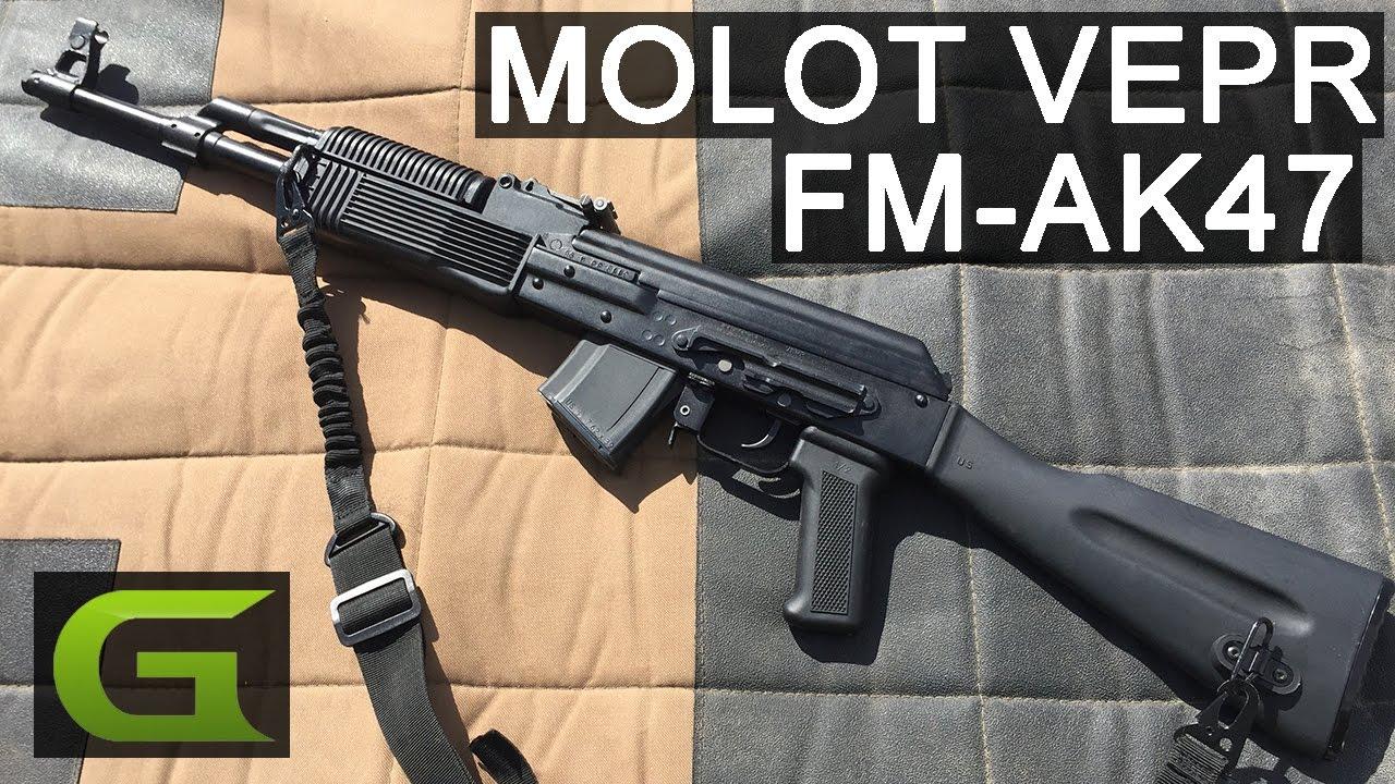 Gun Review: Molot VEPR FM-AK47 in 7 62x39 (VIDEO)