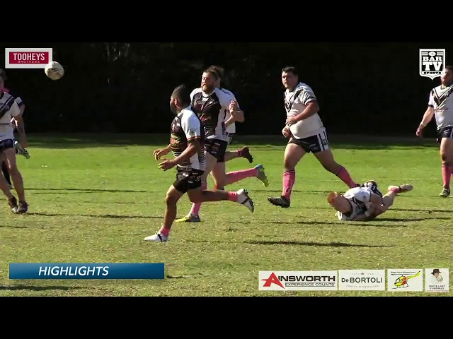 2019 Central Coast RL - Reserve Grade Round 17 Highlights - Berkeley Vale v Ourimbah