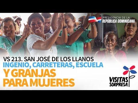 VIDEO: VS 213. San José de los Llanos. Ingenio, carreteras, escuela y granjas para mujeres