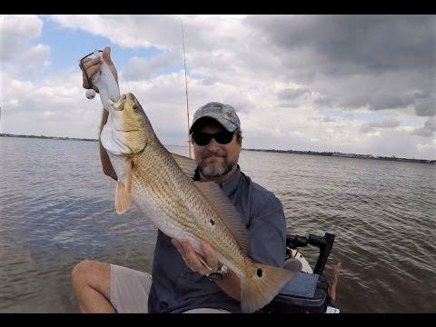 Kayak Fishing In Clear Lake Texas