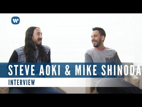 Steve Aoki & Mike Shinoda of Linkin Park (Interview)