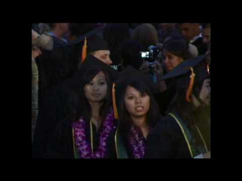 College of Science Commencement 2010