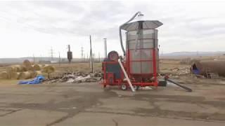 Мобильная зерносушилка AgroDry SF