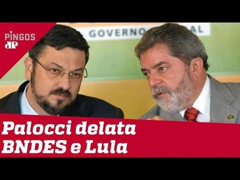 Palocci: Lula era articulador da corrupção no BNDES