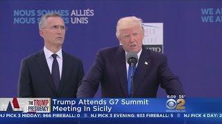 Trump Attends G-7 Summit thumbnail