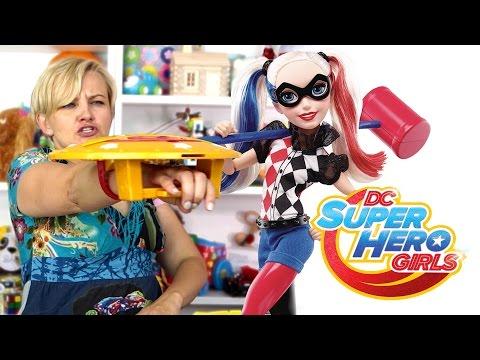 DC Super Hero Girls, Lalki Superbohaterki, Akcesoria, Mattel