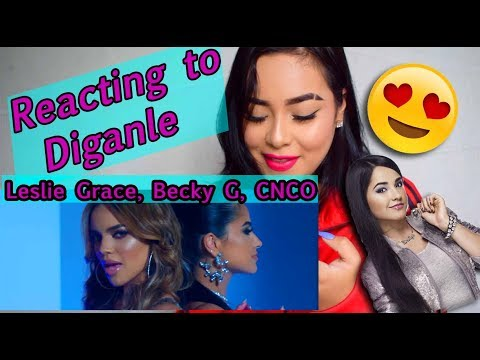 Reacting to Leslie Grace, Becky G, CNCO