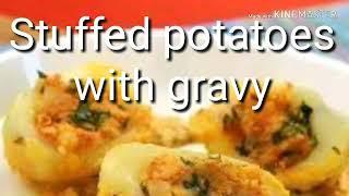Stuffed Potato with Gravy