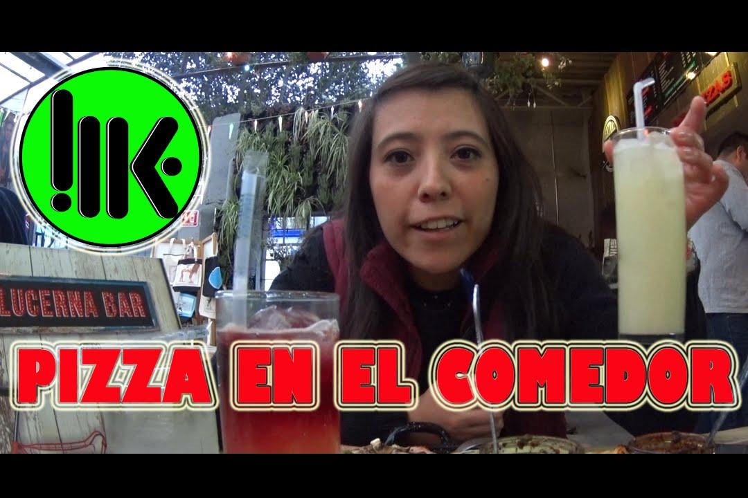 Pizza en el comedor  Chekking  YouTube