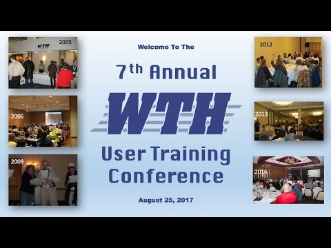 2017 Illinois User's Conference: Editing Session