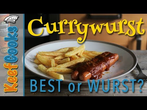 Best or Wurst? Currywurst Favourite German Street Food #keefcooks