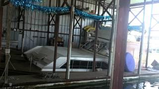 42' Trojan Cabin Cruiser Sinking
