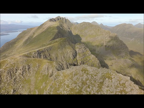 Liathach Aerial Footage
