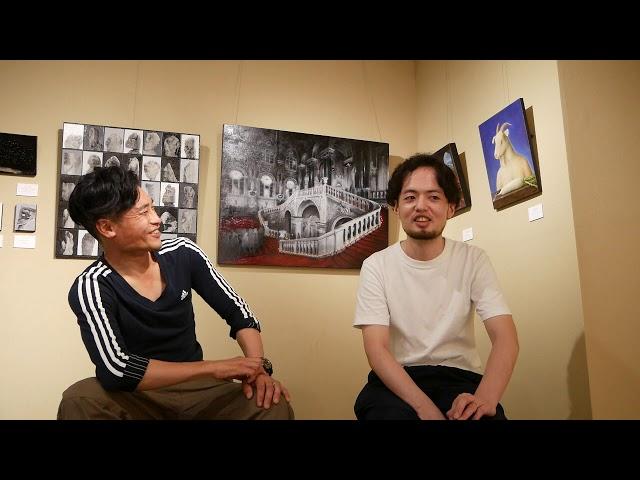 柿沼宏樹 x 高木陽 対談+インタビュー【ぎゃらりい秋華洞】