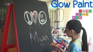 Glow in the Dark Paint | Full-Time Kid | PBS Parents
