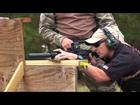 US Army Sniper Jim Gilliland discusses shooting positions