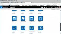 SharePoint  Teamwebsite - Höher gestufte Links einfügen