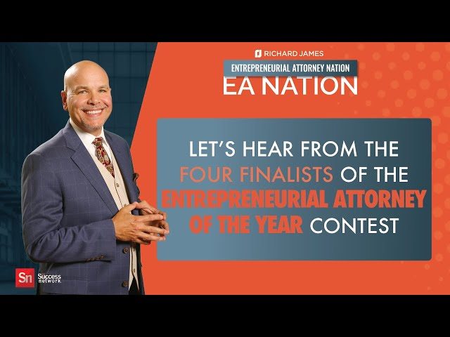 EA Nation - Entrepreneurial Attorney of the Year Contest Finalists