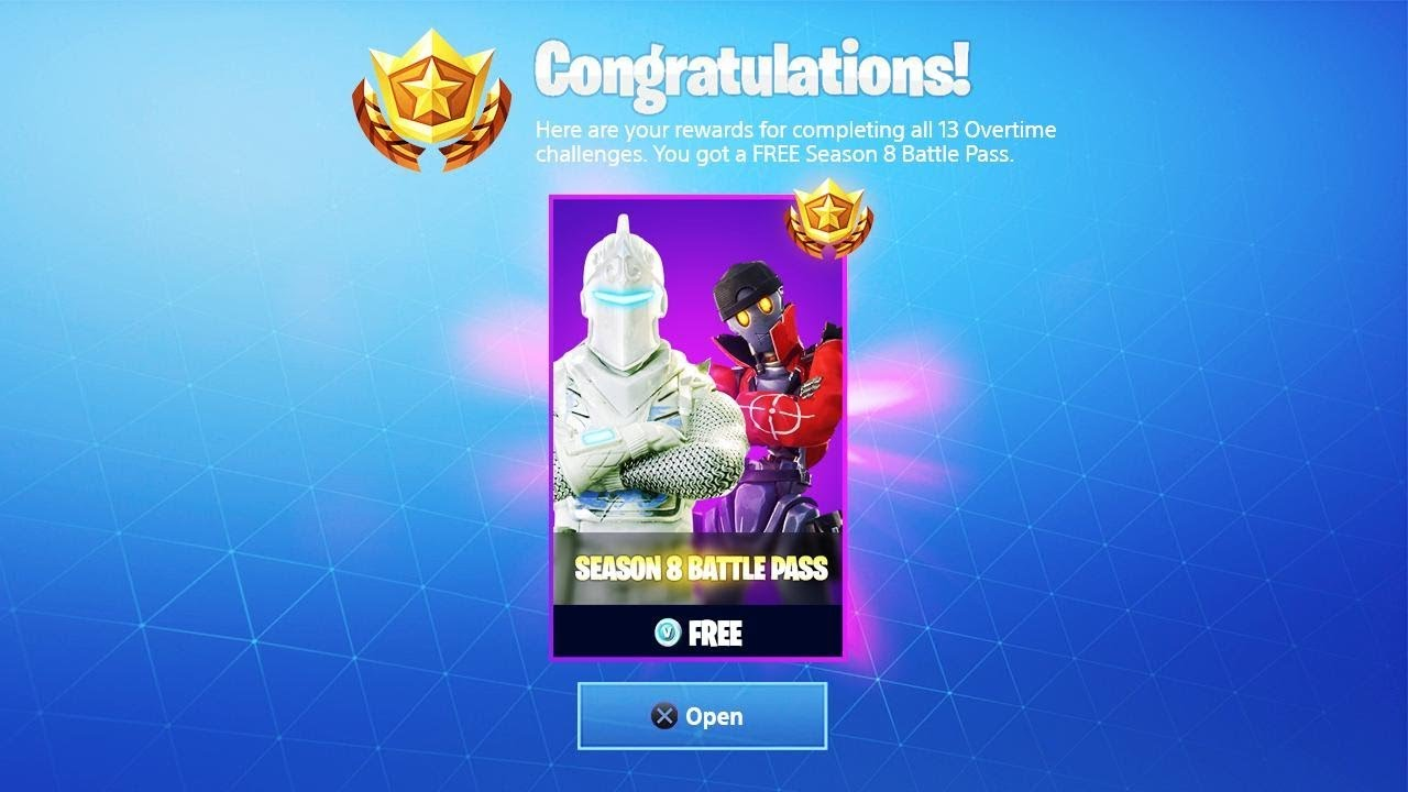 How to get FREE SEASON 8 BATTLE PASS in Fortnite... - YouTube