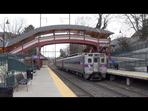 SEPTA - Allen Lane - Trains Depart in Both Directions