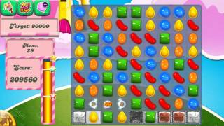 Candy Crush Saga Level 276 No Boosters 3 Stars